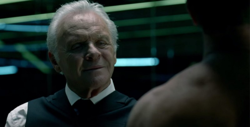 Anthony Hopkins ve filmu  / Westworld