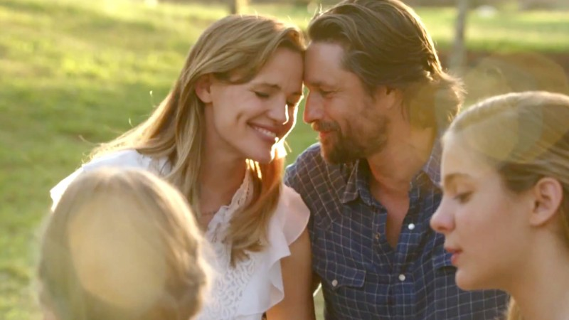 Jennifer Garner, Martin Henderson, Brighton Sharbino ve filmu  / Miracles from Heaven