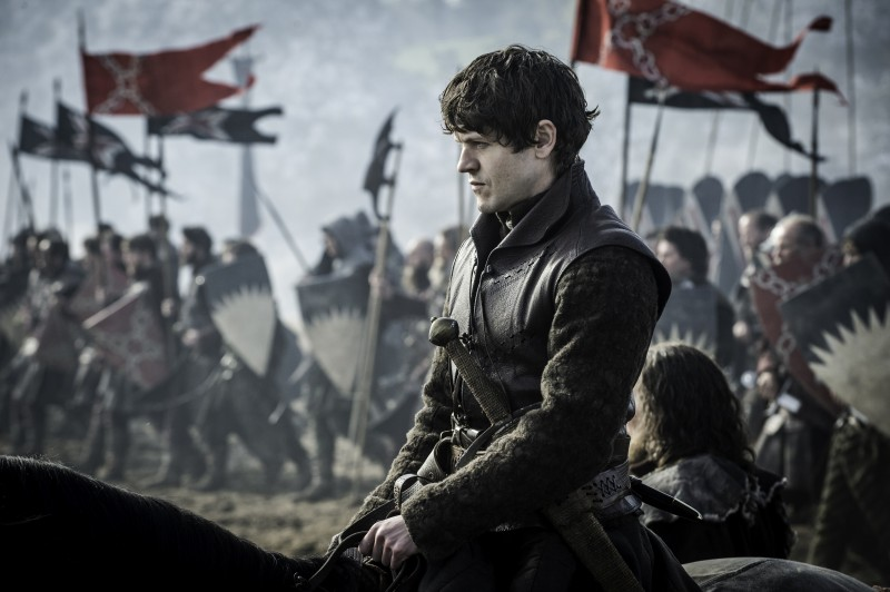 Iwan Rheon ve filmu Hra o trůny / Game of Thrones