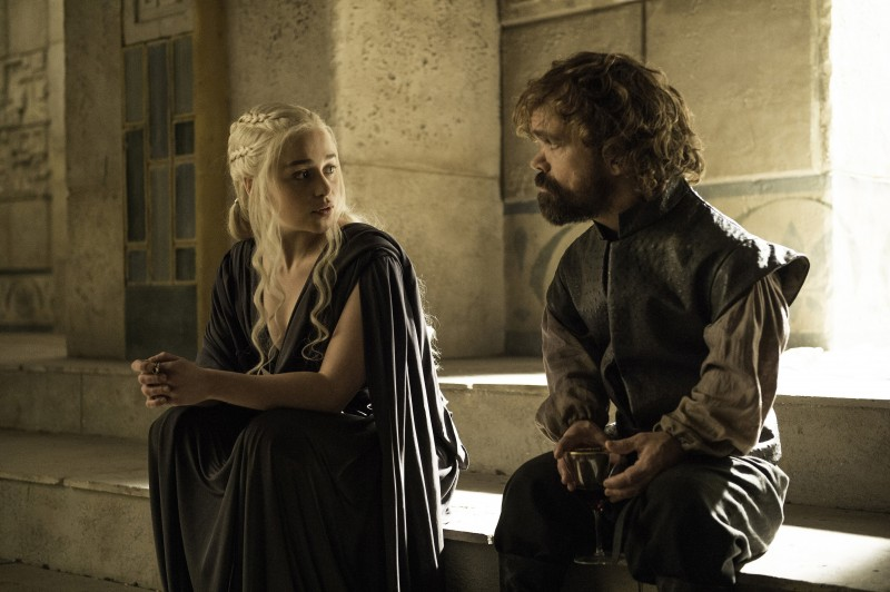 Emilia Clarke, Peter Dinklage ve filmu Hra o trůny / Game of Thrones