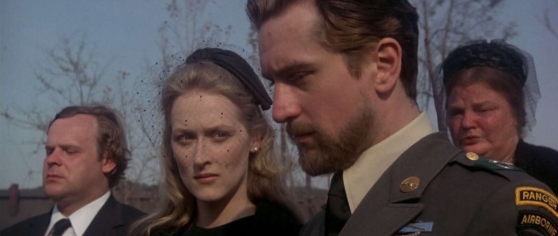 George Dzundza, Robert De Niro, Meryl Streep ve filmu Lovec jelenů / The Deer Hunter
