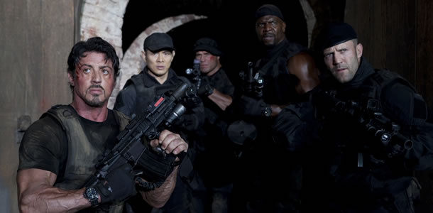 Sylvester Stallone ve filmu Expendables: Postradatelní / The Expendables