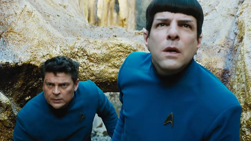 Zachary Quinto, Karl Urban ve filmu Star Trek: Do neznáma / Star Trek Beyond