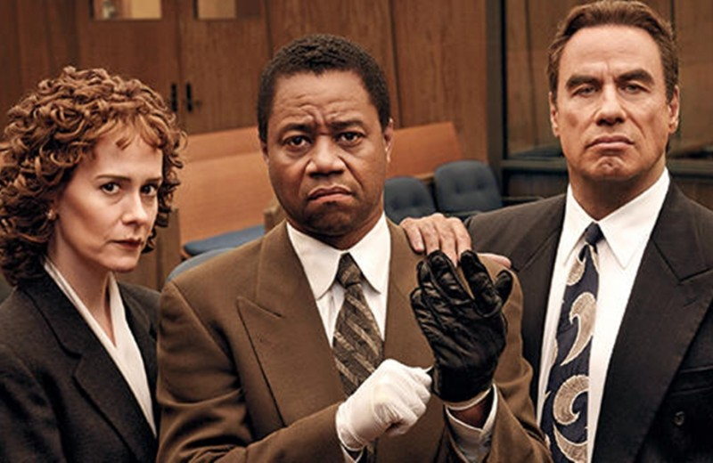 Sarah Paulson, John Travolta, Cuba Gooding, Jr. ve filmu American Crime Story - The People v. O.J. Simpson  / American Crime Story