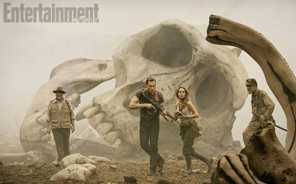 Tom Hiddleston, Brie Larson ve filmu  / Kong: Skull Island