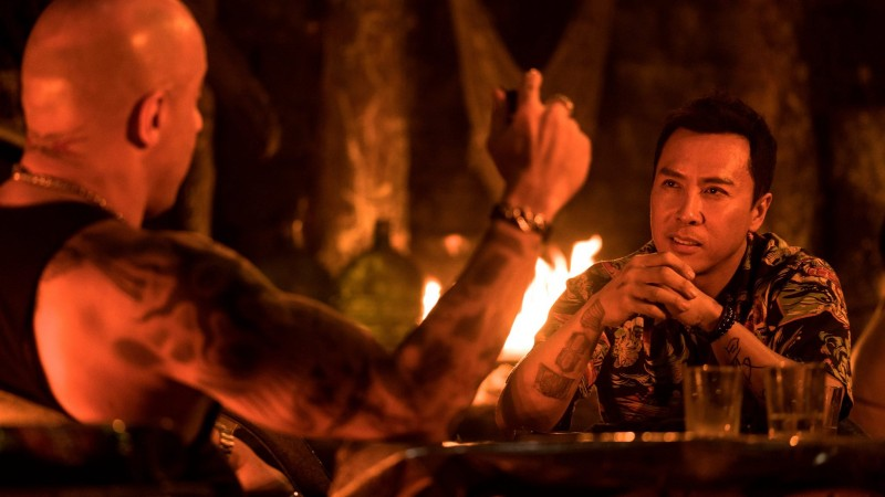 Vin Diesel, Donnie Yen ve filmu  / xXx: The Return of Xander Cage