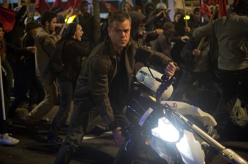 Matt Damon ve filmu Jason Bourne / Jason Bourne