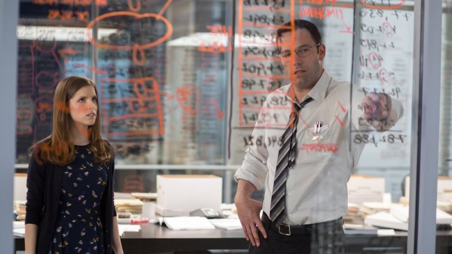 Anna Kendrick, Ben Affleck ve filmu Zúčtování / The Accountant