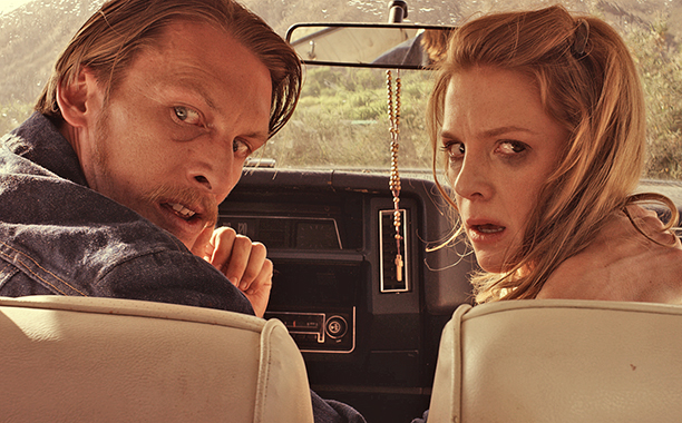 Ashley Bell, James Hébert ve filmu  / Carnage Park