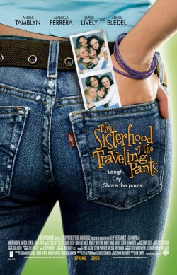 Plakát filmu Sesterstvo putovních kalhot / The Sisterhood of the Traveling Pants