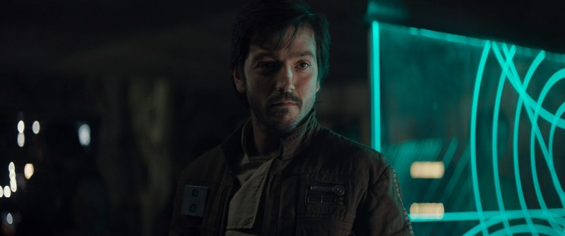Diego Luna ve filmu Rogue One: Star Wars Story / Rogue One