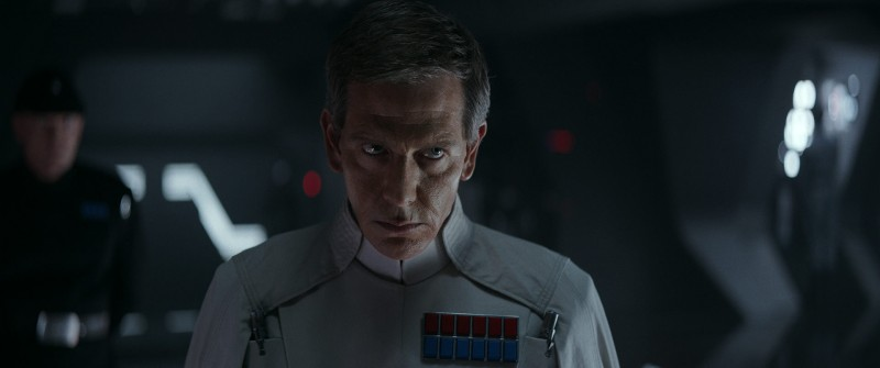 Ben Mendelsohn ve filmu Rogue One: Star Wars Story / Rogue One