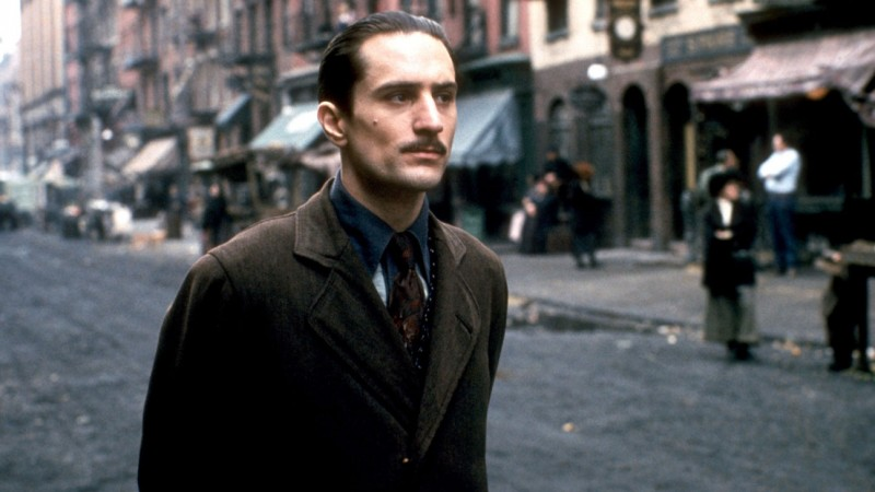 Robert De Niro ve filmu Kmotr II / The Godfather: Part II