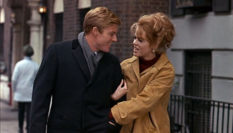Robert Redford, Jane Fonda ve filmu Bosé nohy v parku / Barefoot in the Park