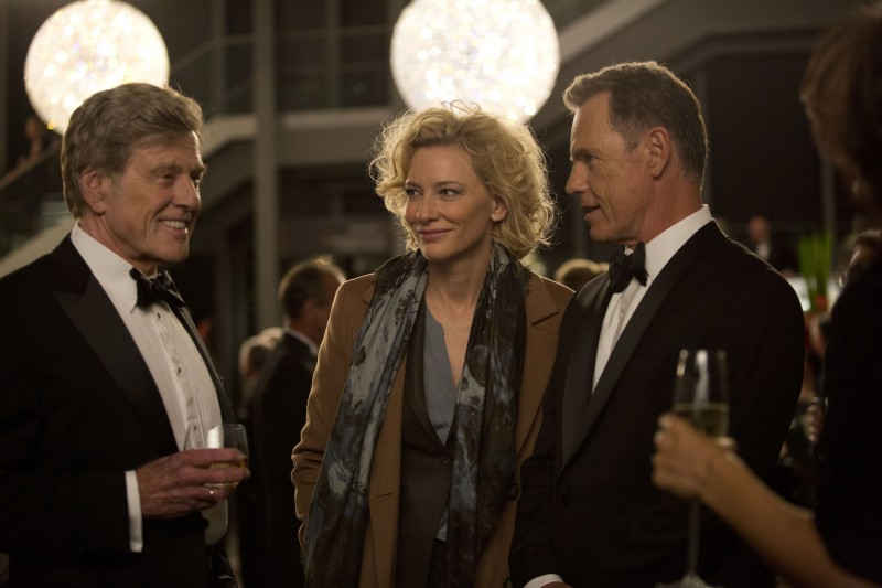Cate Blanchett, Robert Redford, Bruce Greenwood ve filmu  / Truth