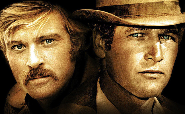 Paul Newman, Robert Redford ve filmu Butch Cassidy a Sundance Kid / Butch Cassidy and the Sundance Kid