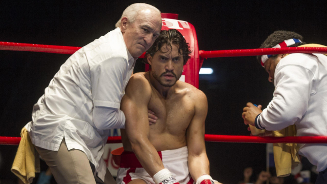 Robert De Niro, Edgar Ramirez ve filmu  / Hands of Stone