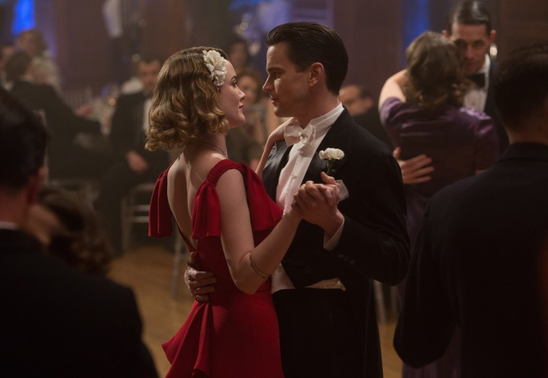 Matt Bomer, Dominique McElligott ve filmu  / The Last Tycoon