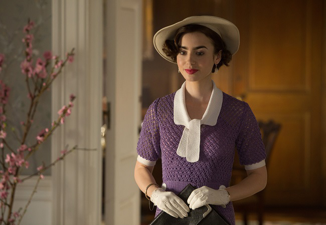 Lily Collins ve filmu  / The Last Tycoon