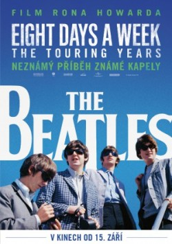 Český plakát filmu The Beatles: Eight Days a Week - The Touring Years / The Beatles: Eight Days a Week - The Touring Years