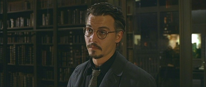 Johnny Depp ve filmu Devátá brána / The Ninth Gate