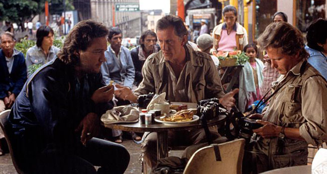 James Woods, James Belushi, John Savage ve filmu Salvador / Salvador