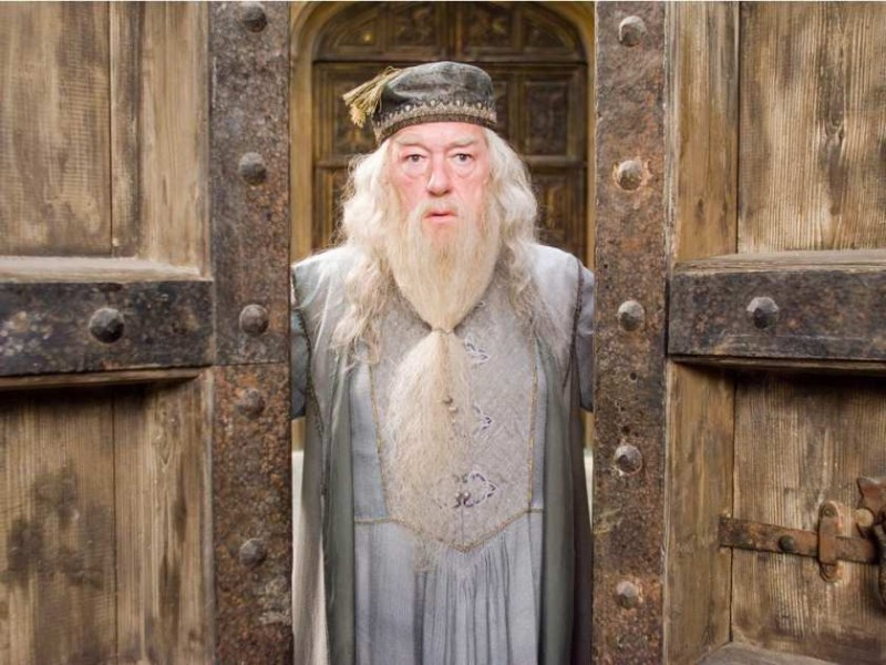 Michael Gambon ve filmu Harry Potter a Fénixův řád / Harry Potter and the Order of the Phoenix