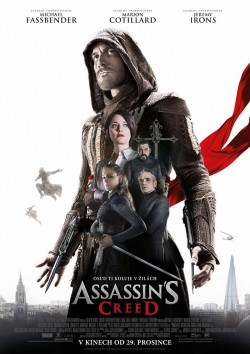 Český plakát filmu Assassin's Creed / Assassin's Creed