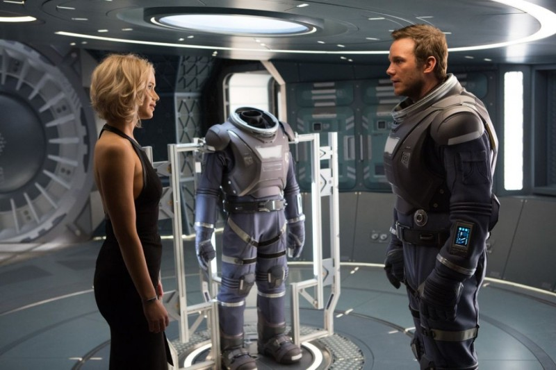Jennifer Lawrence, Chris Pratt ve filmu Pasažéři / Passengers