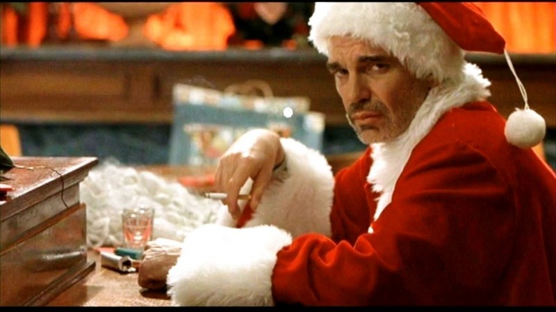 Billy Bob Thornton ve filmu Santa je úchyl! / Bad Santa