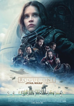 Český plakát filmu Rogue One: Star Wars Story / Rogue One: A Star Wars Story