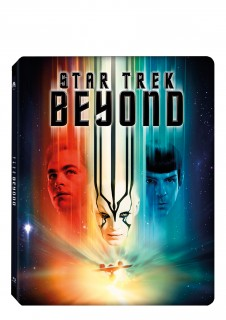 BD obal filmu Star Trek: Do neznáma / Star Trek Beyond