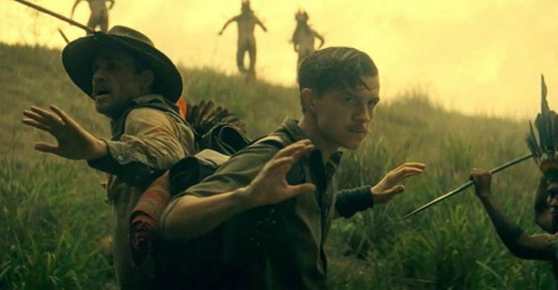 Charlie Hunnam, Tom Holland ve filmu Ztracené město Z / The Lost City of Z