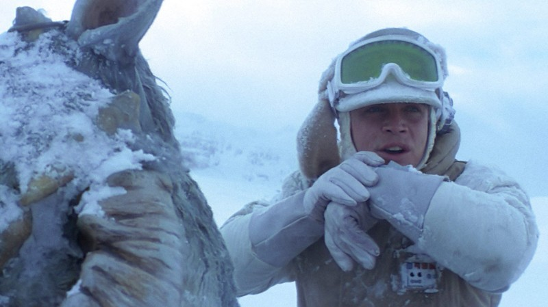 Mark Hamill ve filmu Star Wars: Epizoda V - Impérium vrací úder / Star Wars: Episode V - The Empire Strikes Back