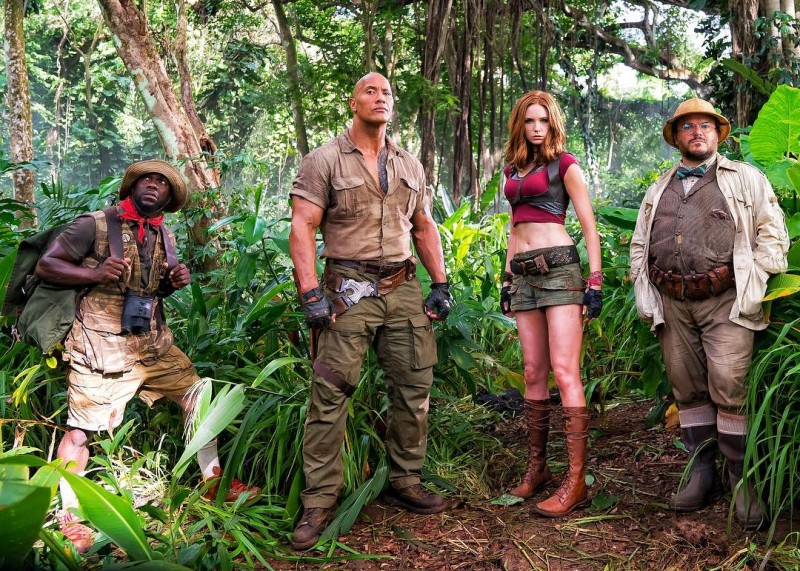 Dwayne Johnson ve filmu  / Jumanji
