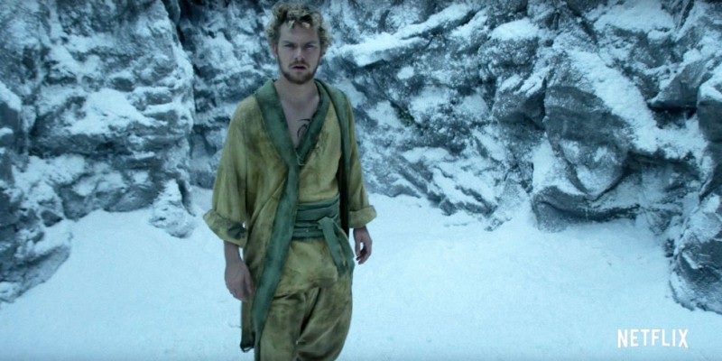 Finn Jones ve filmu  / Iron Fist