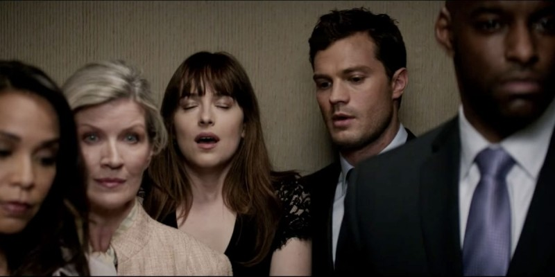 Dakota Johnson, Jamie Dornan ve filmu Padesát odstínů temnoty / Fifty Shades Darker