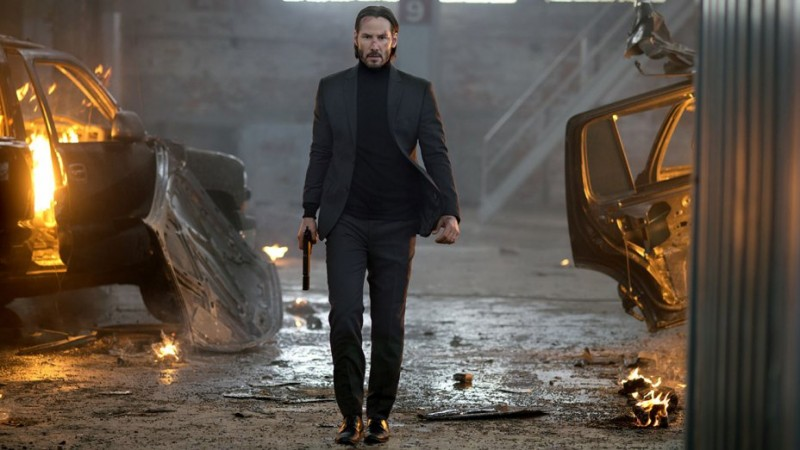 Keanu Reeves ve filmu John Wick 2 / John Wick: Chapter 2