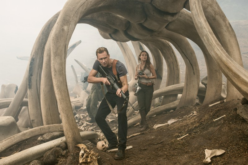 Tom Hiddleston, Brie Larson ve filmu Kong: Ostrov lebek / Kong: Skull Island