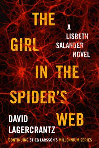 Obal knihy The Girl in the Spider's Web