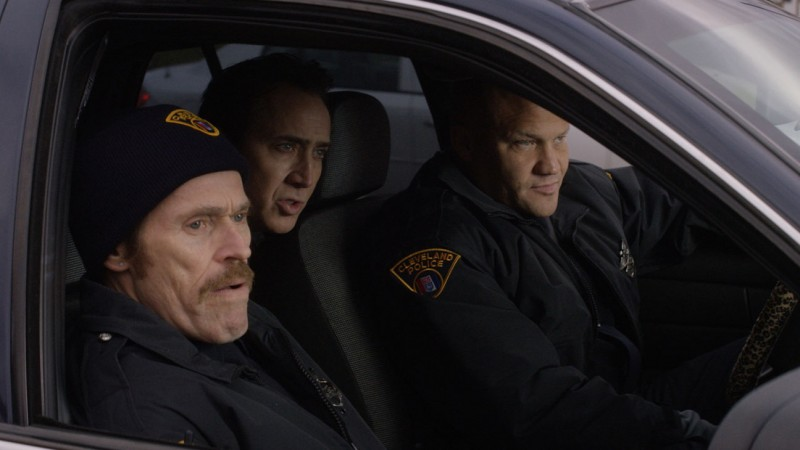 Nicolas Cage, Willem Dafoe, Christopher Matthew Cook ve filmu  / Dog Eat Dog