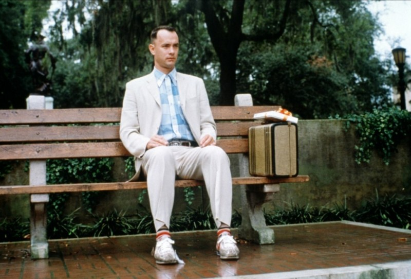 Tom Hanks ve filmu  / Forrest Gump