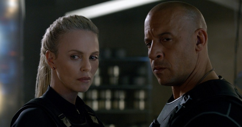 Charlize Theron, Vin Diesel ve filmu Rychle a zběsile 8 / The Fate of the Furious