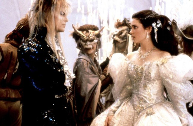 David Bowie, Jennifer Connelly ve filmu Labyrint / Labyrinth