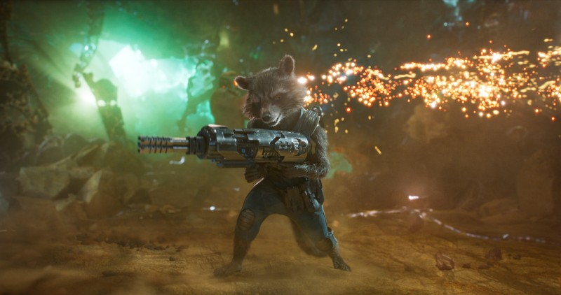 Bradley Cooper ve filmu Strážci Galaxie Vol. 2 / Guardians of the Galaxy Vol. 2