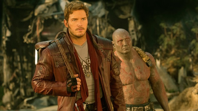 Chris Pratt, Dave Bautista ve filmu Strážci Galaxie Vol. 2 / Guardians of the Galaxy Vol. 2