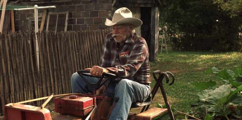 Richard Farnsworth ve filmu Příběh Alvina Straighta / The Straight Story