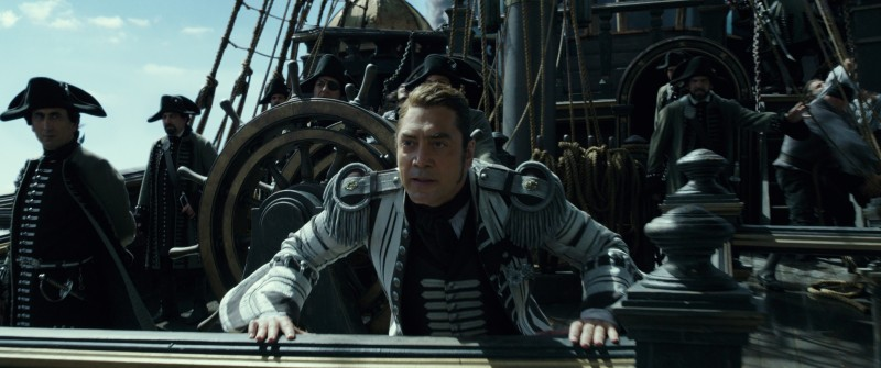 Javier Bardem ve filmu Piráti z Karibiku: Salazarova pomsta / Pirates of the Caribbean: Dead Men Tell No Tales