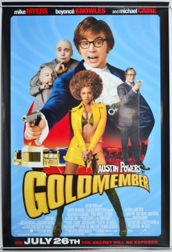 Plakát filmu Austin Powers - Goldmember / Austin Powers in Goldmember