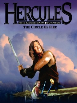 Plakát filmu Herkules a ohnivý kruh / Hercules: The Legendary Journeys - Hercules and the Circle of Fire